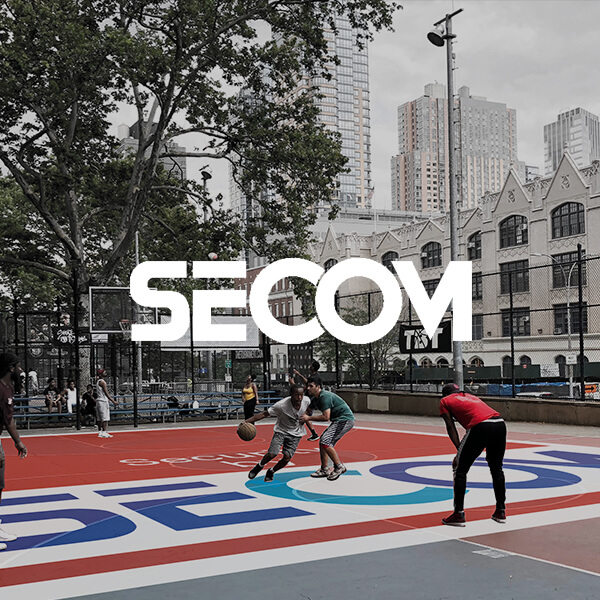 SECOM TOWN STICKER